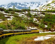 Alaska Railroad in Seward