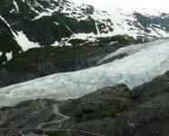 Exit Glacier in Seward, Alaska