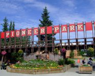 Pioneer Park in Fairbanks, Alaska