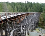 Kinsol Trestle in Shawnigan Lake