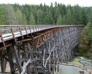 Kinsol Trestle am Shawnigan Lake, BC