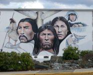 Wandmalereien in Chemainus, BC
