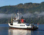 MV Frances Barkley in Port Alberni, BC