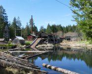 Mc Lean Mill, in Port Alberni, BC