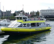 Whale Watching Boot in Victoria, BC