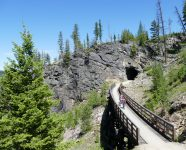 Myra Canyon in Kelowna