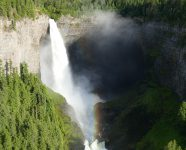 Helmcken Falls, Wells Gray PP in Clearwater