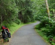 Mendenhall River Trail in Juneau, Alaska