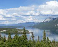 Klondike Highway bei Carcross, Yukon