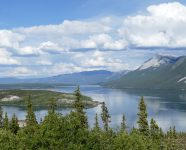 Klondike Highway bei Carcross in Carcross, Yukon