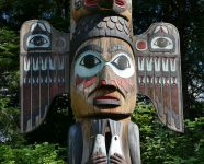 Totem Bight State Park in Ketchikan