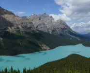 Peyto Lake in Banff
