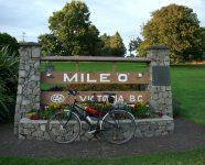 Mile Zero in Victoria, BC