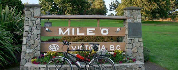 Mile Zero in Victoria
