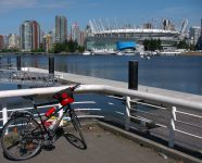 False Creek in Vancouver, BC
