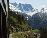 WPYR am White Pass, Skagway, Alaska